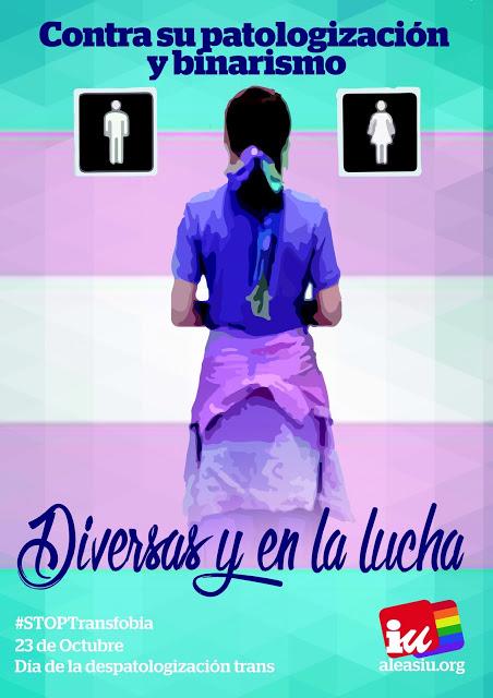 23-O hari untuk depathologisasi identitas dan tubuh orang-orang trans